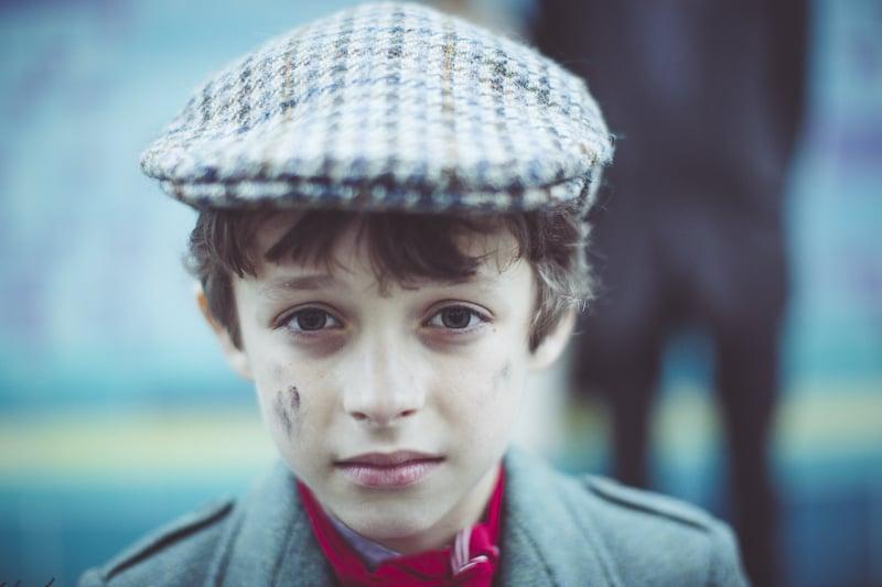 steampunk pageboy