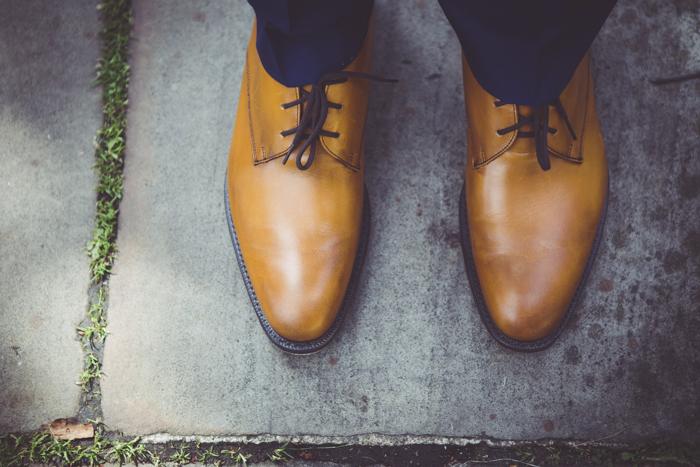 Church's wedding shoes