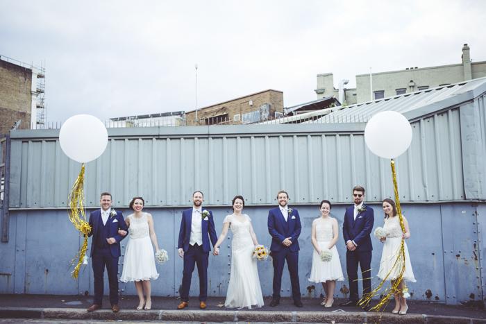 Industrial Urban wedding venue