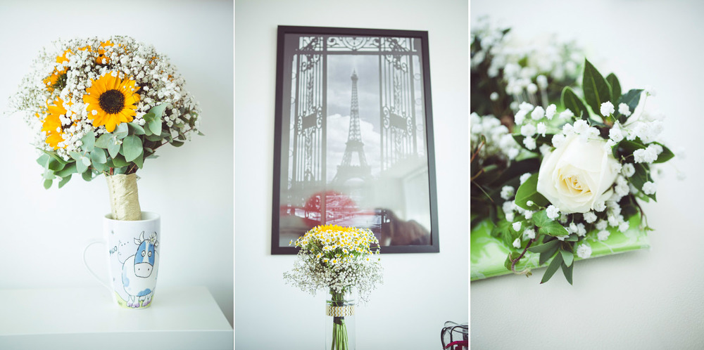 London wedding bouquet
