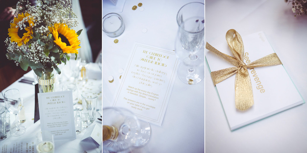 London Wedding Decorations