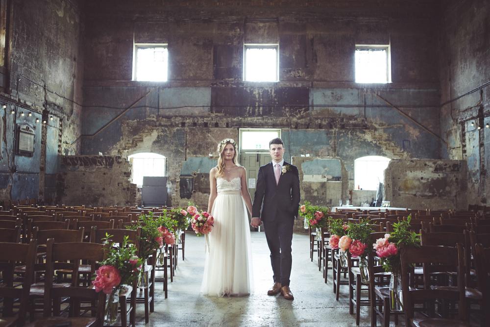 Wedding Photography At The Asylum Peckham Alternative London Wedding Photography