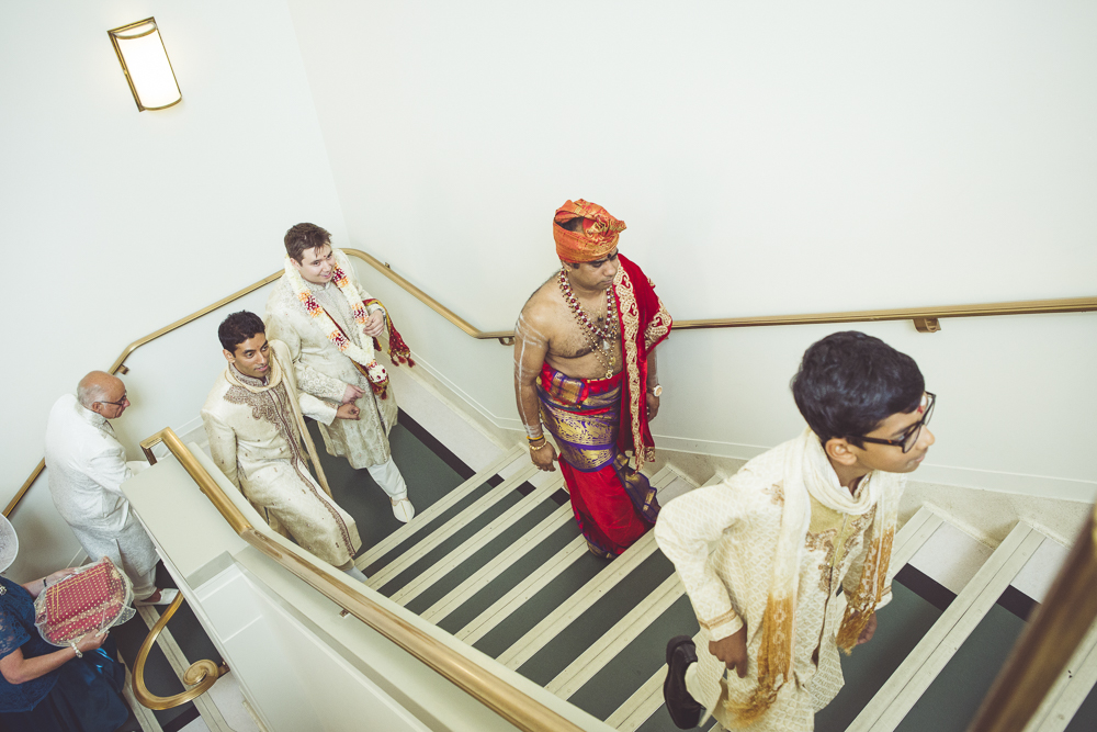 Anglo Sri Lankan wedding at Hackney Town Hall