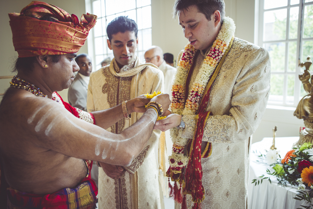 Tamil wedding ceremony at Hackney Town Hall