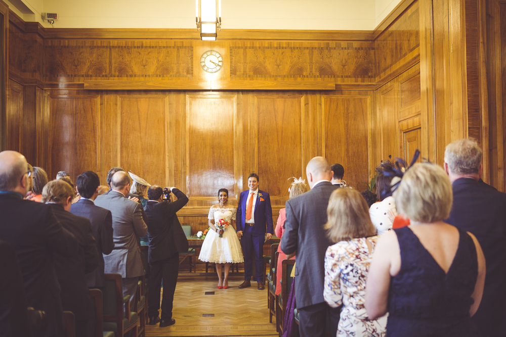 Rhys and Thubeena get married in Hackney