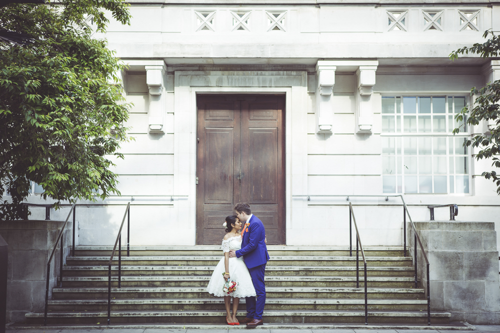 East London Spring wedding
