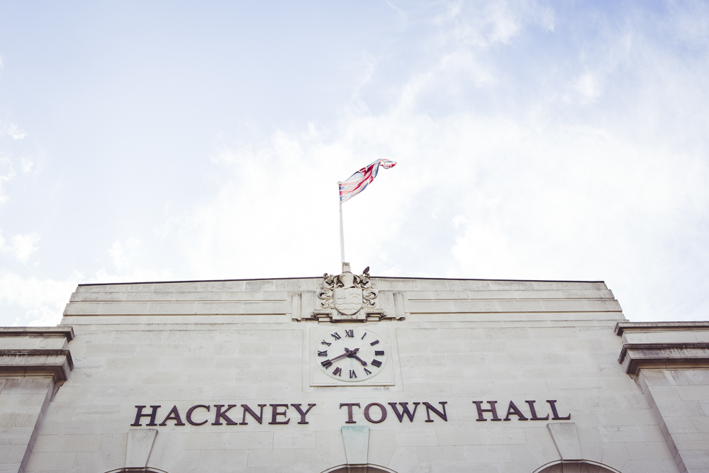 Wedding Venue hackney Town Hall