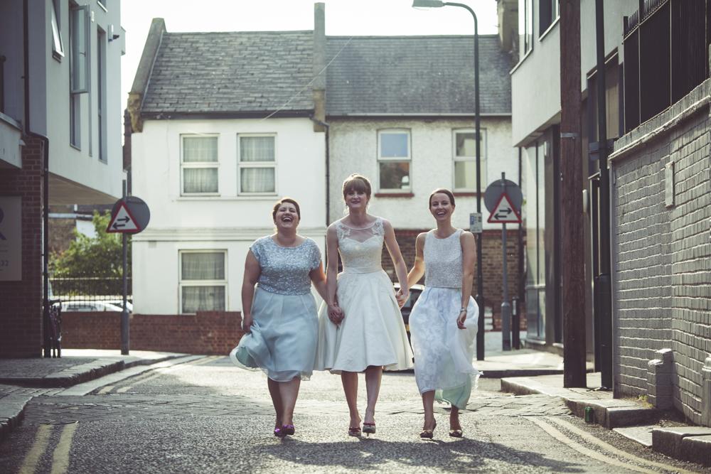 Nicole's bridesmaids