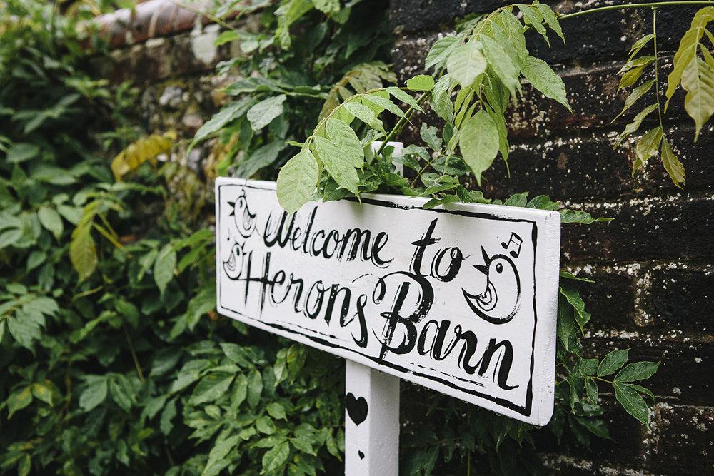 Heron's Barn Farm Wedding