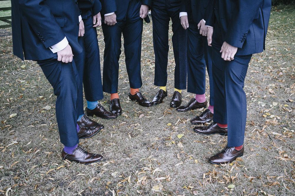 Groomsmen's socks