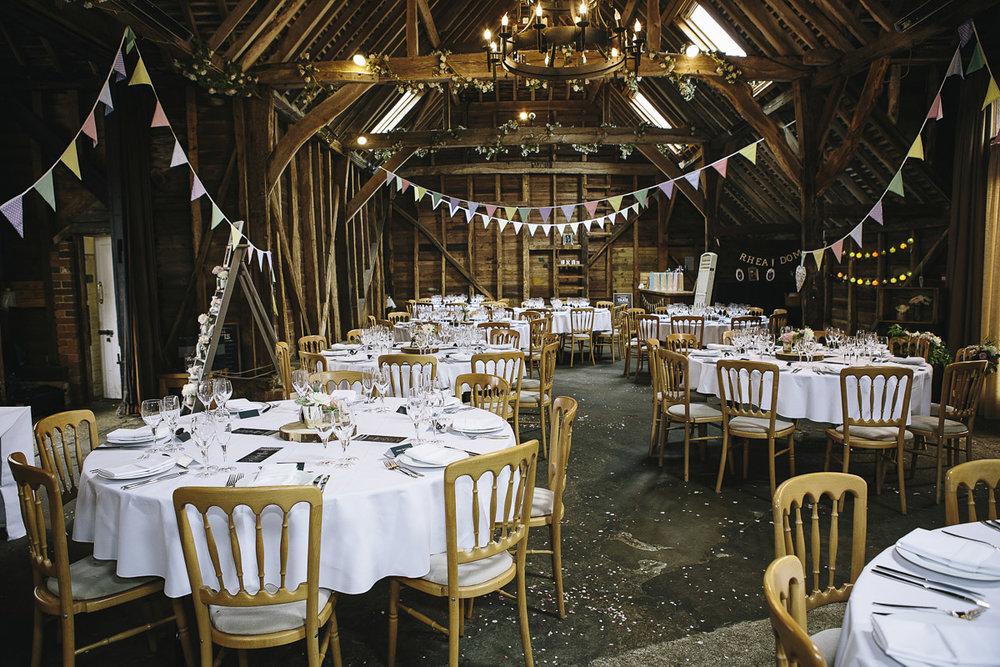 Rustic festival style wedding