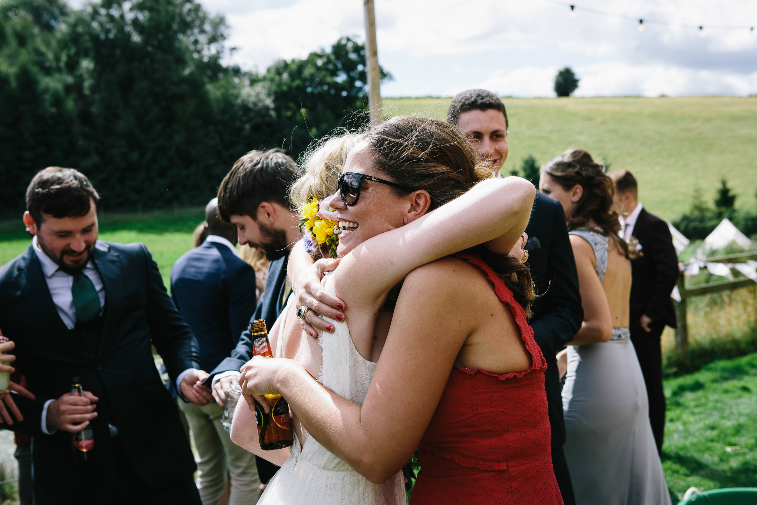 Festival Wedding at Hadshaw Farm — Alternative London Wedding ...