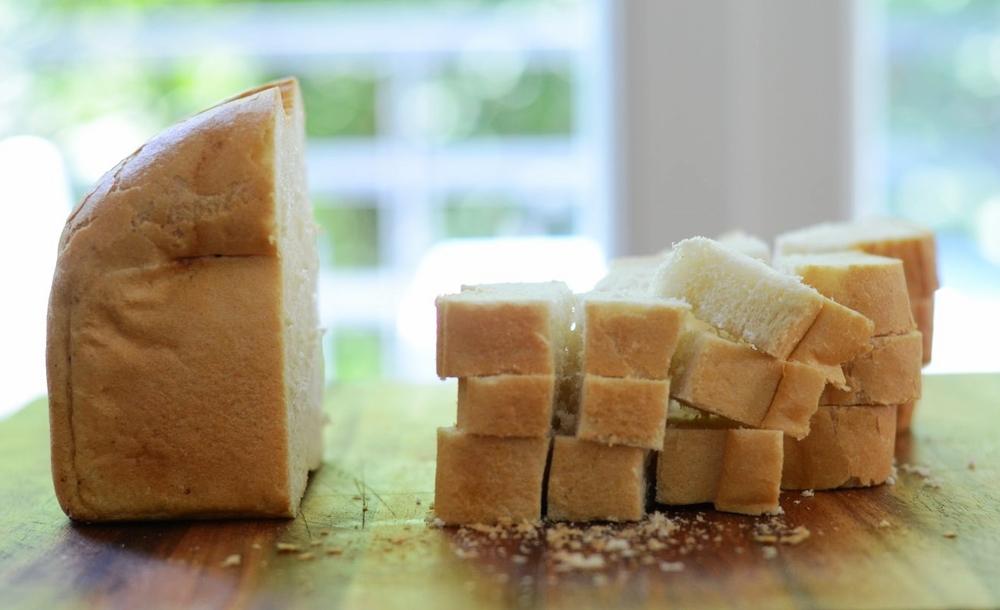 Weiß- oder Toastbrot
