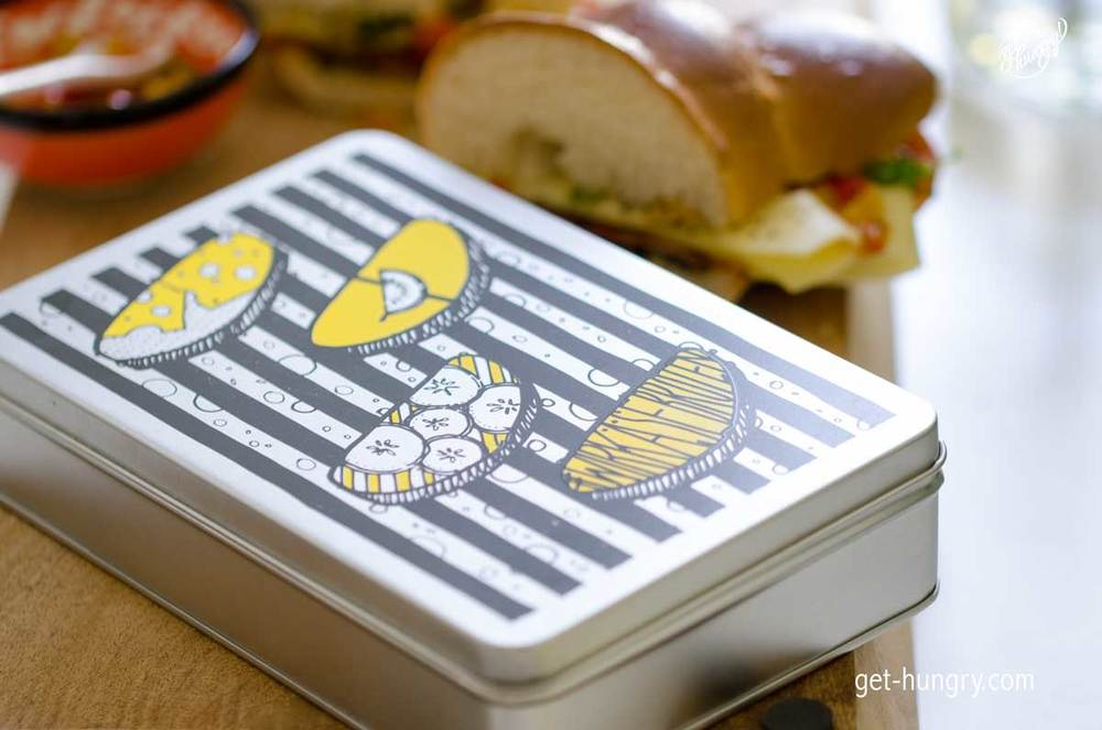"""*Produktplatzierung.  """"Käsebrot Dreierlei""""ist als freie Produktionsarbeit im Auftrag von Leerdammer entstanden. ©get-hungry.com, 2016."""