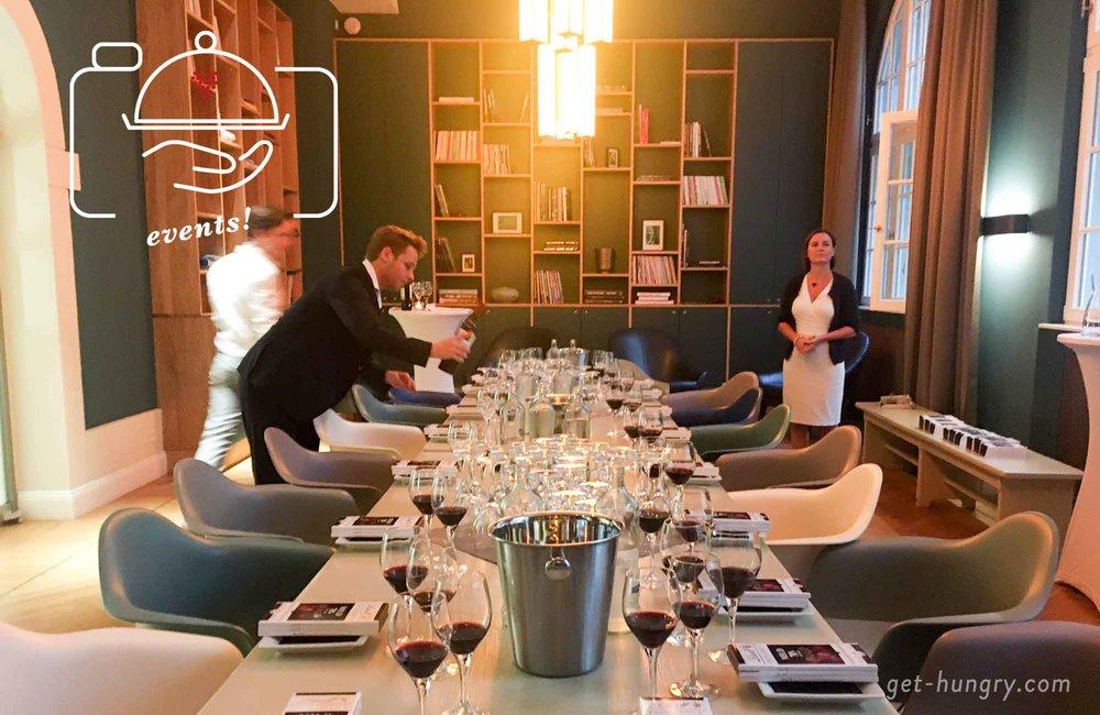 Blogger Dinner Chocolate Tasting mit Lind Excellence und Rotwein