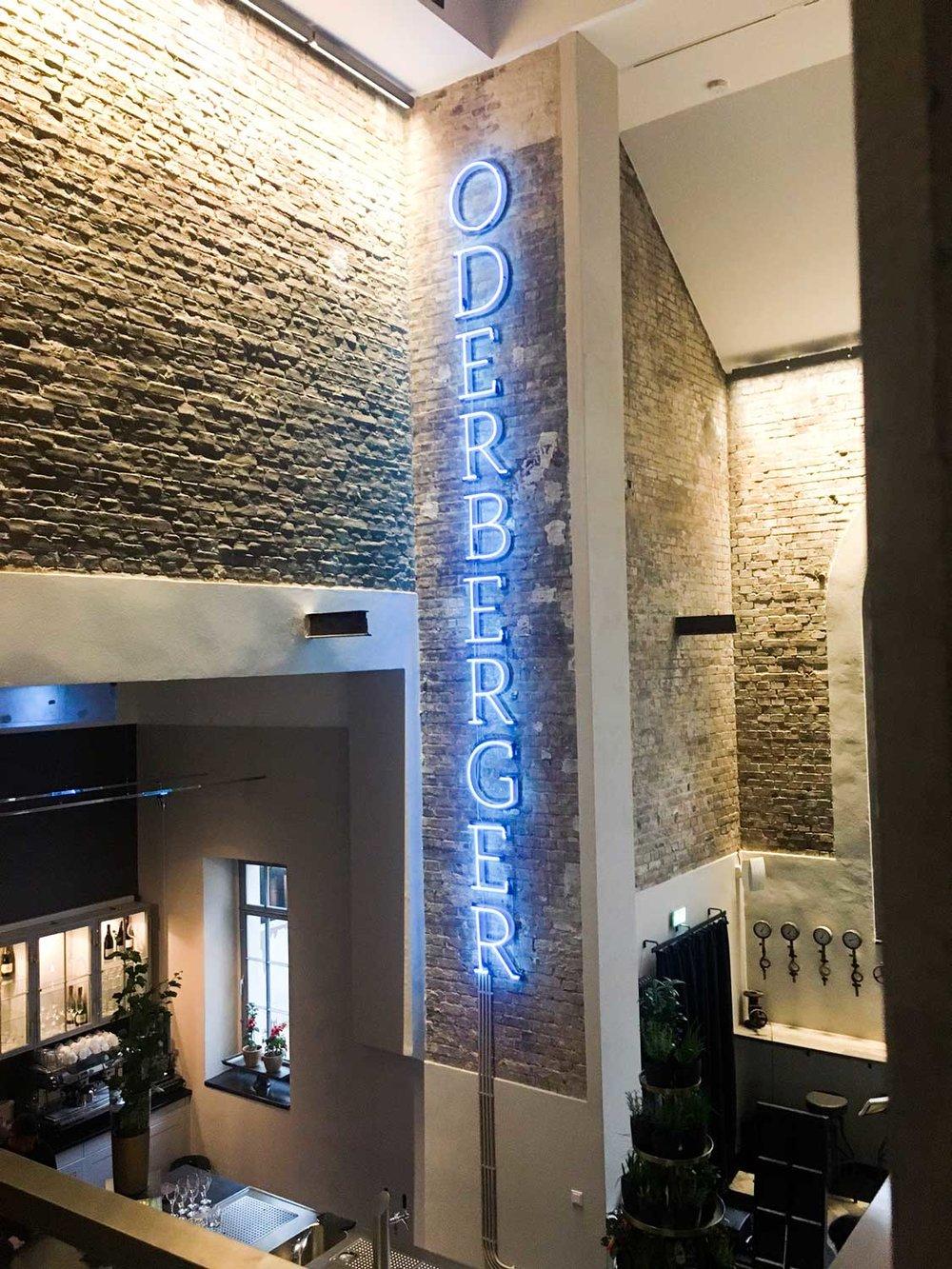 Hotel Oderberger Heizraum
