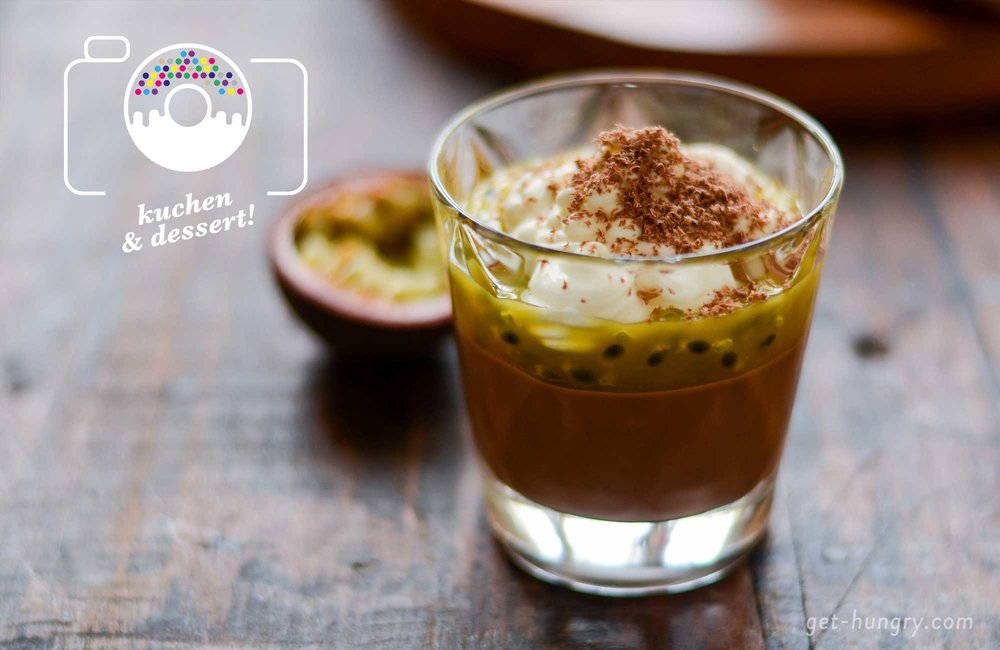 Schokopudding Mit Crunchy Maracuja Topping Get Hungry