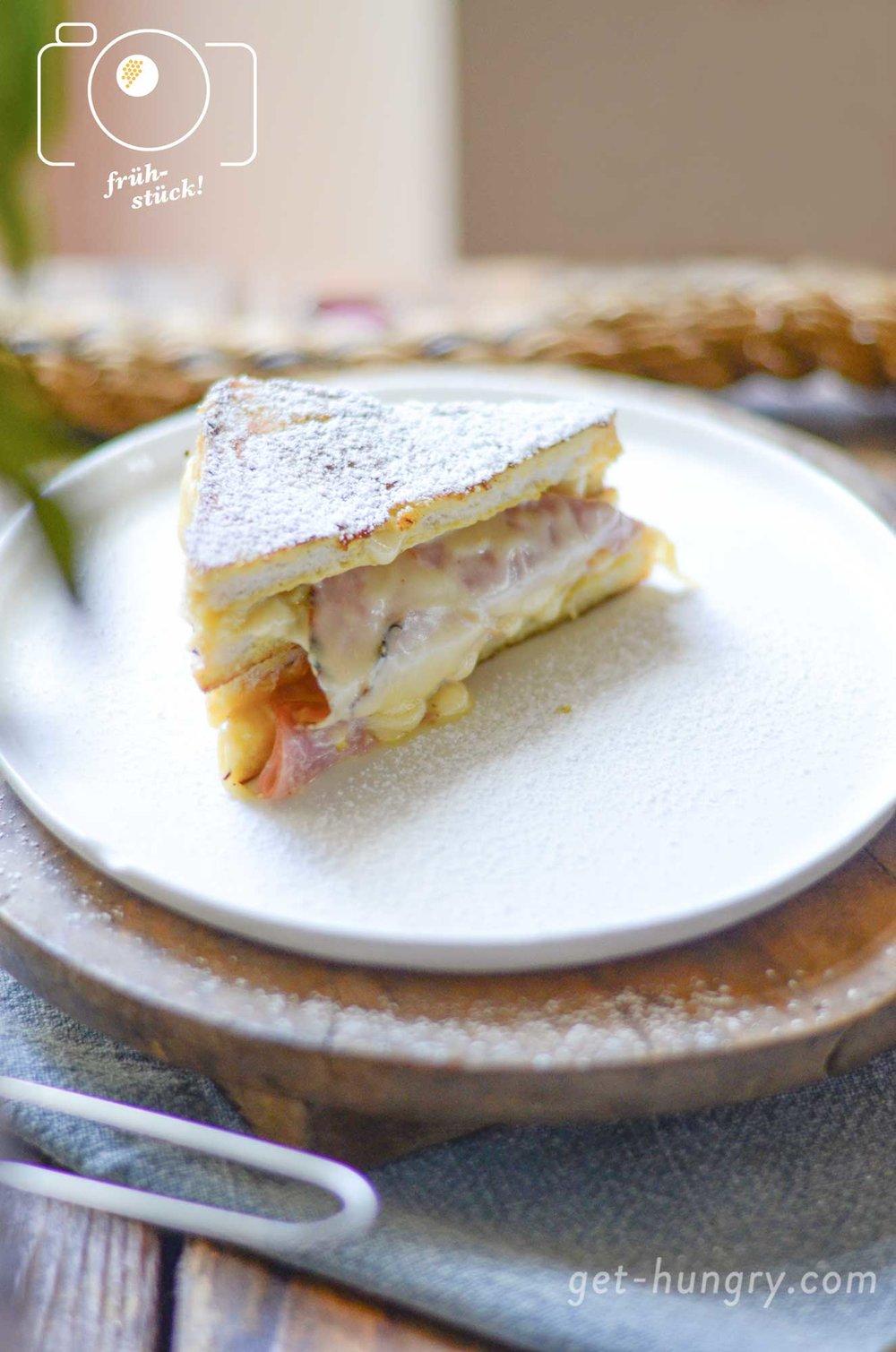 French Toast Monte Cristo style