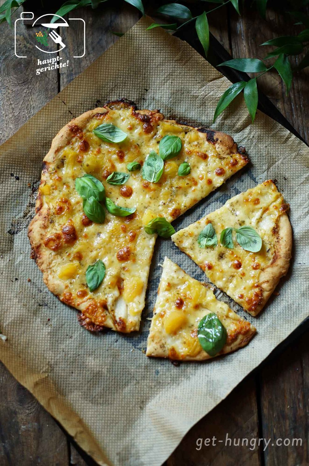 Selbst gebackene Pizza: Yellow Margherita und Pizza Neapolitana - Klassiker so gut wie beim Italiener