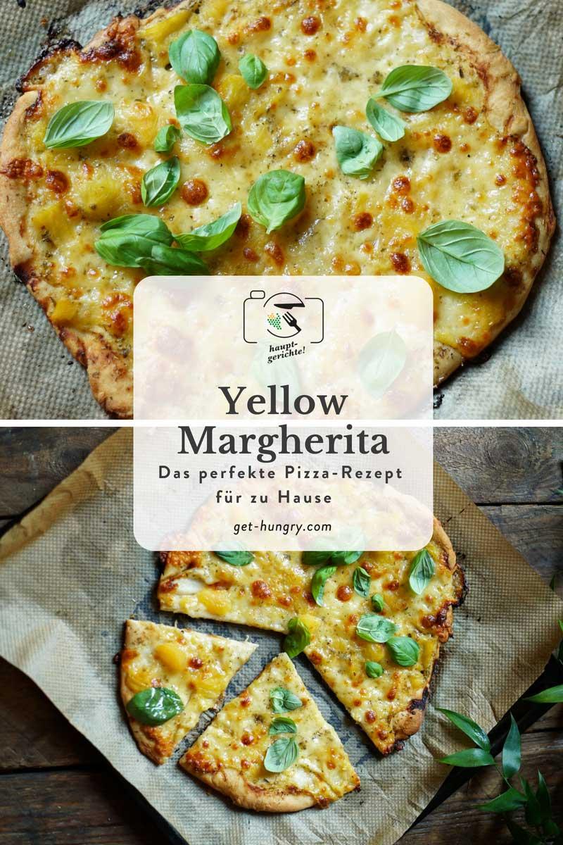 Pizza Yellow Margherita - Ein Klassiker für Zuhause