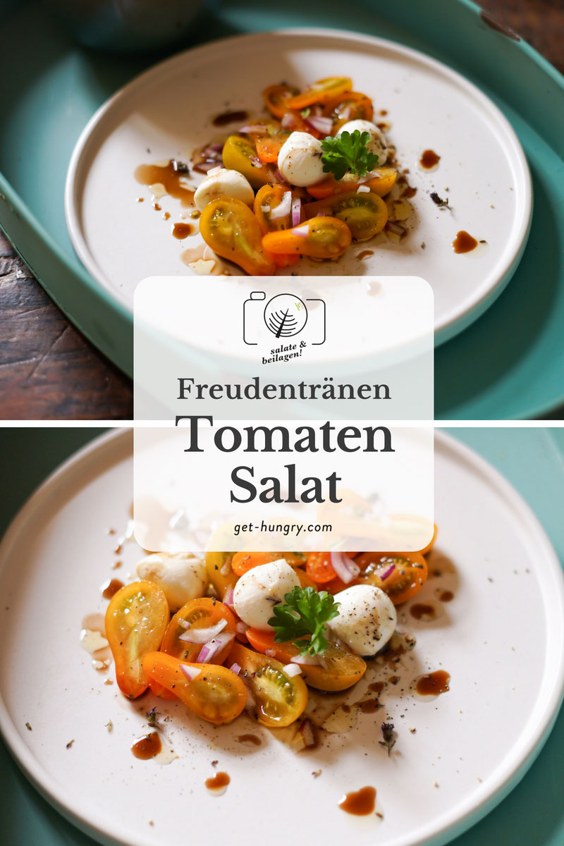 Freudentränen-Tomatensalat Caprese