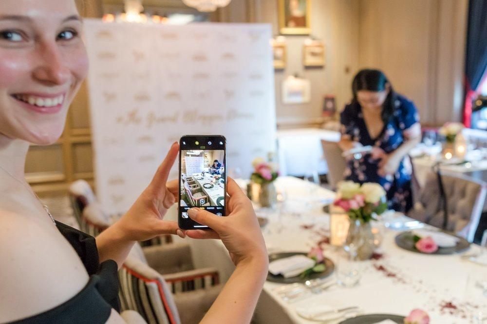 Bei Charlotte und Fritz zum Grand Blogger Dinner 2018