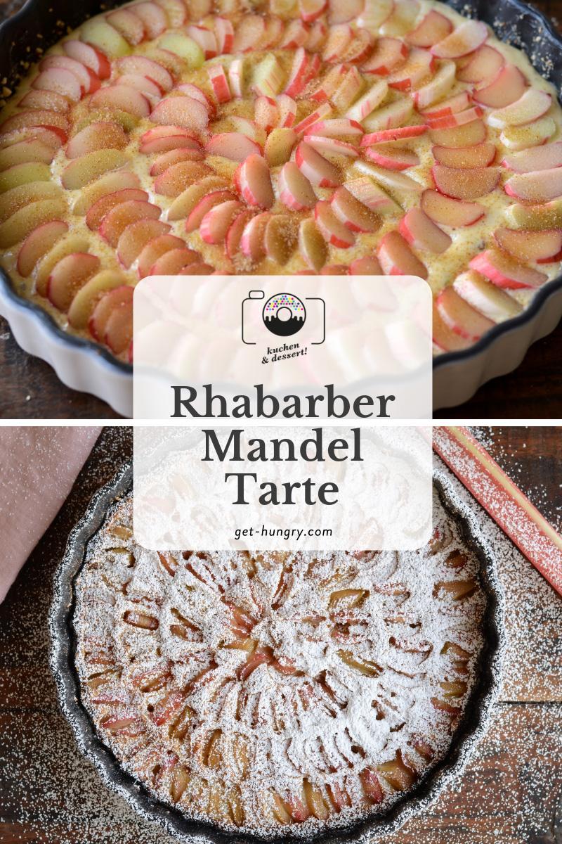 Rhabarber-Mandel-Tarte