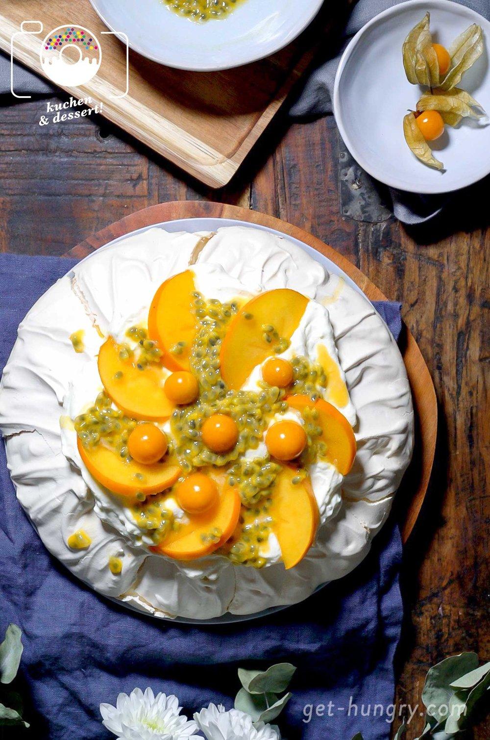Klassische Pavlova Schritt Fur Schritt Zum Weissen Dessert Traum