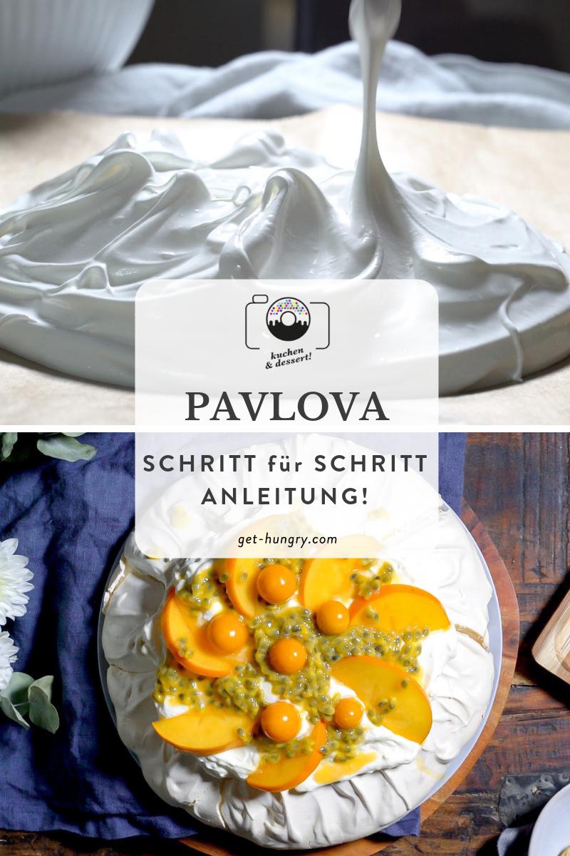 Pavlova - So geht's Schritt für Schritt