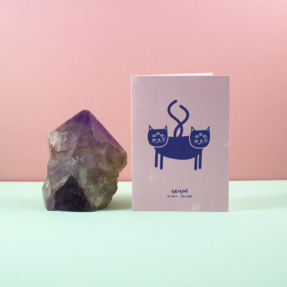 Cosmic Cat Birthday Cards £1.50 (RRP £2.50)