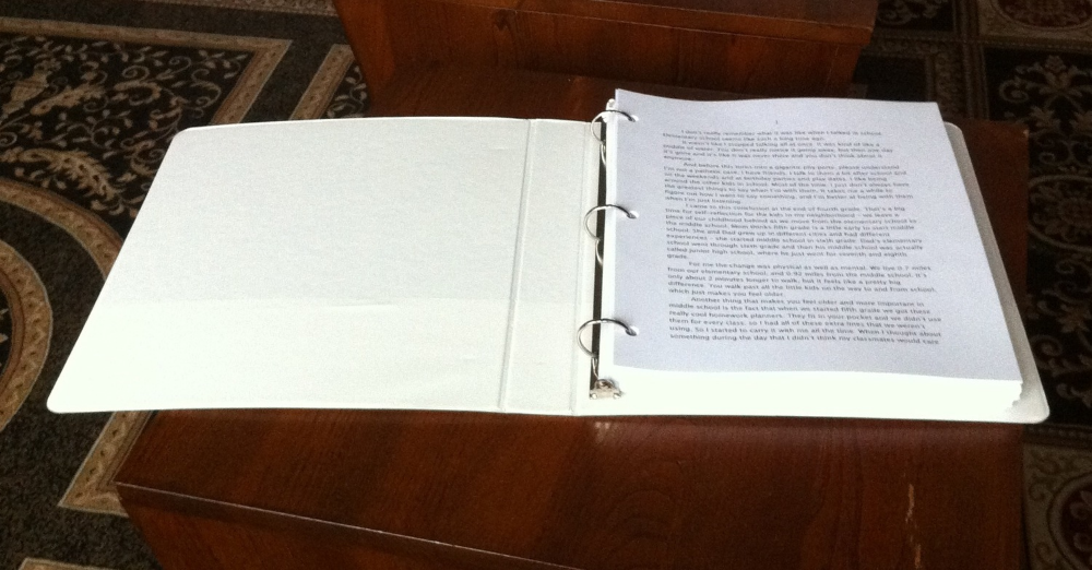 This is what a first draft of a book looks like. At least, it's what the first draft of my book looks like.