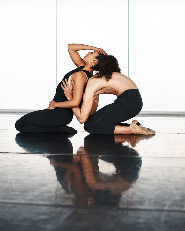 #tbt - Dance Artists Maeva Boldron and Devin Packard. Photo by @felixkunze | | | #artthatelevates  www.zestcollective.org