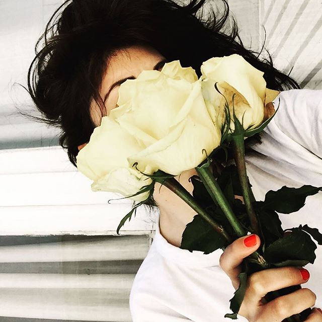 "On the second day he came with a single red rose He said: ""Give me your loss and your sorrow"" I nodded my head, as I lay on the bed If I show you the roses, will you follow? 🌷🌷🌷"
