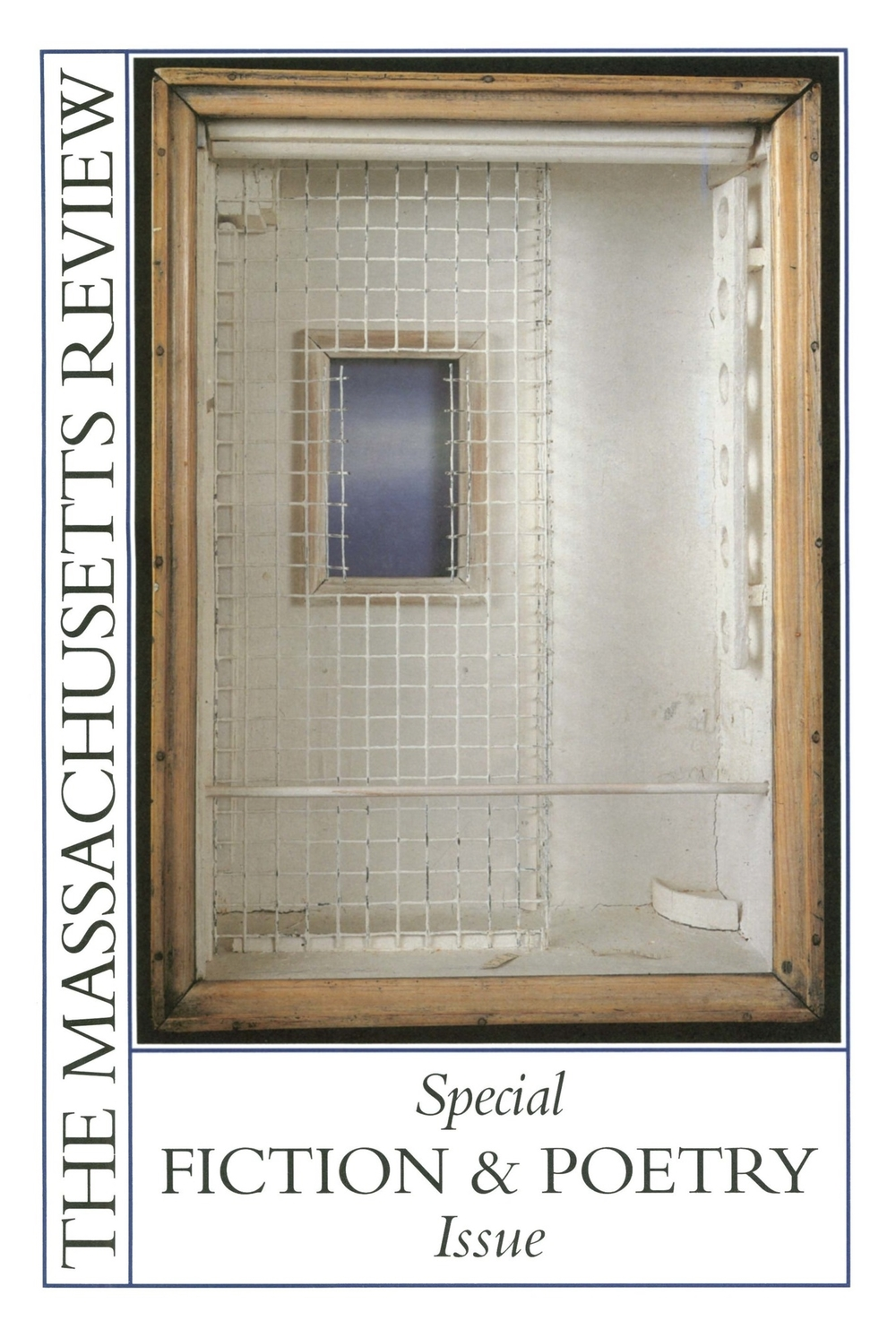 front cover The Massachusetts nd Poetry Issue (Summer, 1997) 2.jpg