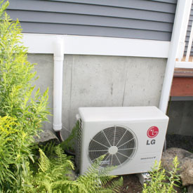 Outdoor unit of a MiniSplit system.  (Image from www.todaysgreenconstruction.com)