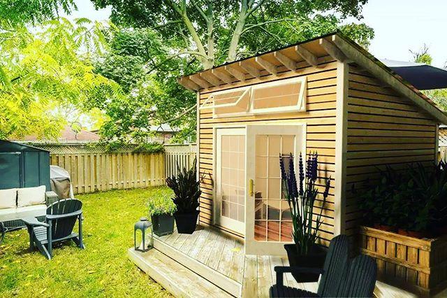 Time to enjoy spring... Cabana style!  www.homebuiltcompany.com/cabana  #cabana #tinyhouse #adu
