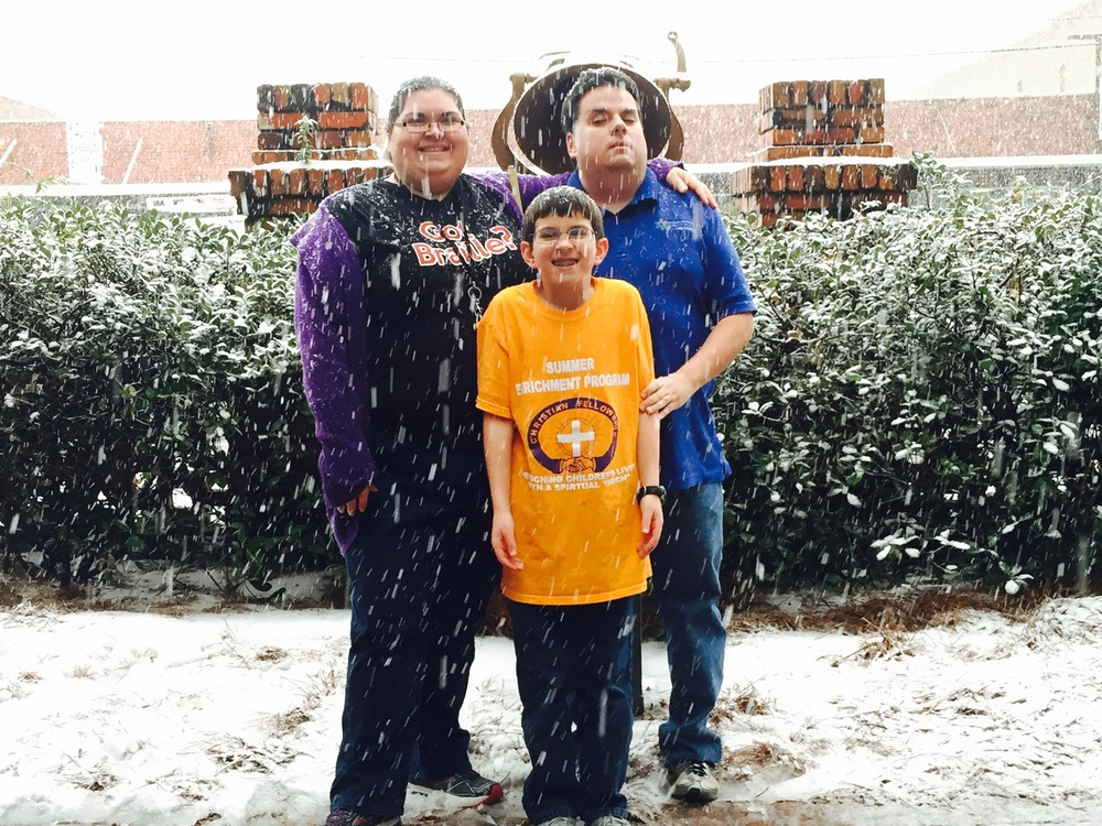 Eric, Krystal, and Austin Guillory enjoying the snow at LCB.jpg