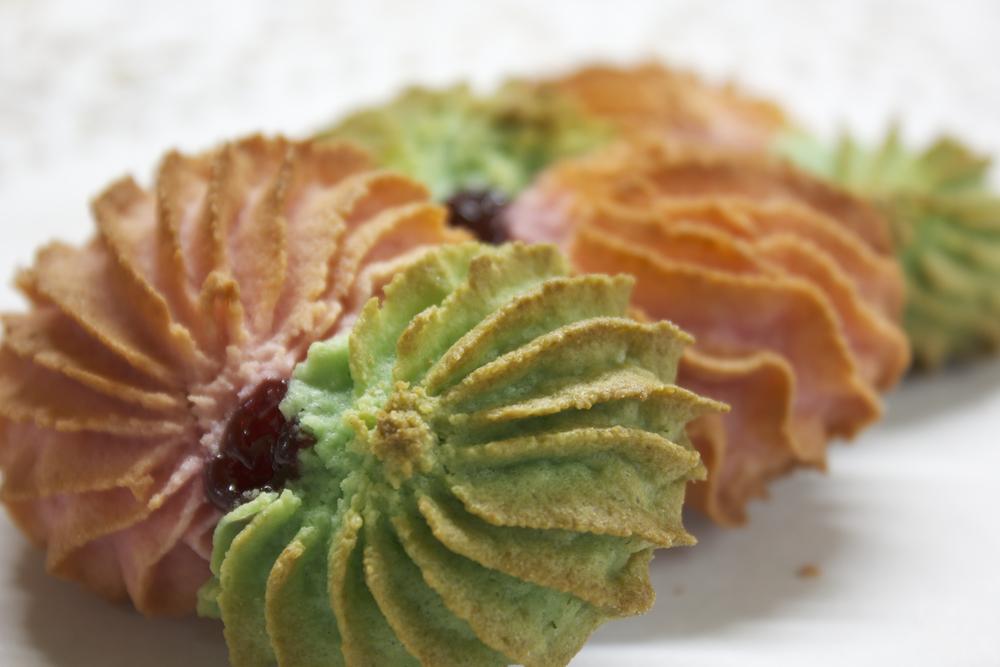 Almond flower Cookie