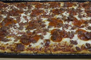 Pepperoni Bacon Pizza