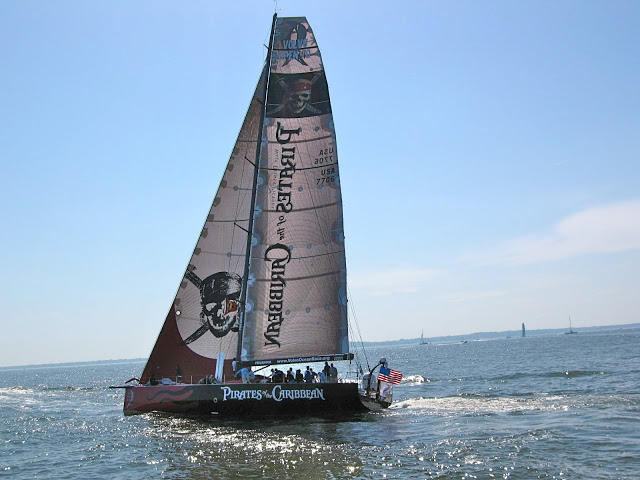 """Pirates of the Caribbean""- Volvo Ocean Race - Parade of Sail from Baltimore to Annapolis"
