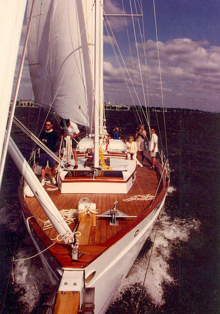 "Schooner ""Woodwind""- Nautical star of  ""Wedding Crashers"""