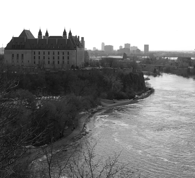 Ottawa river view Supreme court