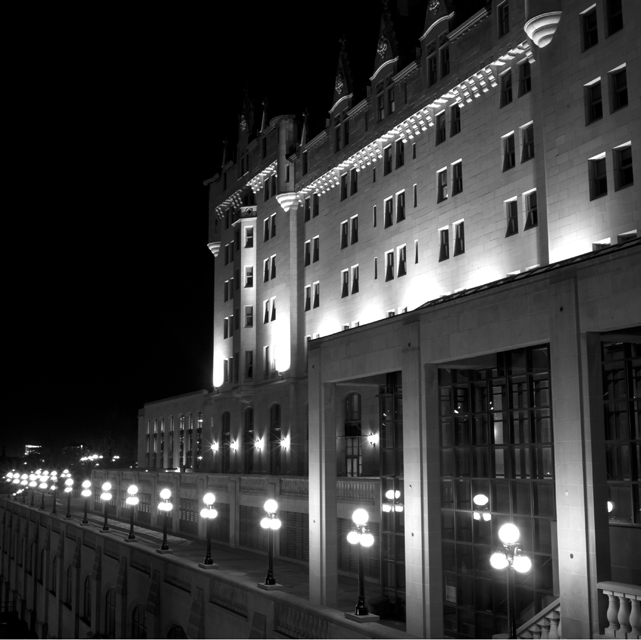 Chateau Laurier night 1