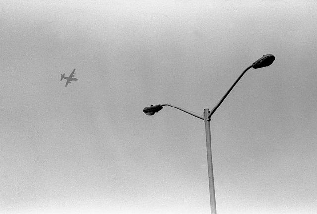 Aircraft street lamp