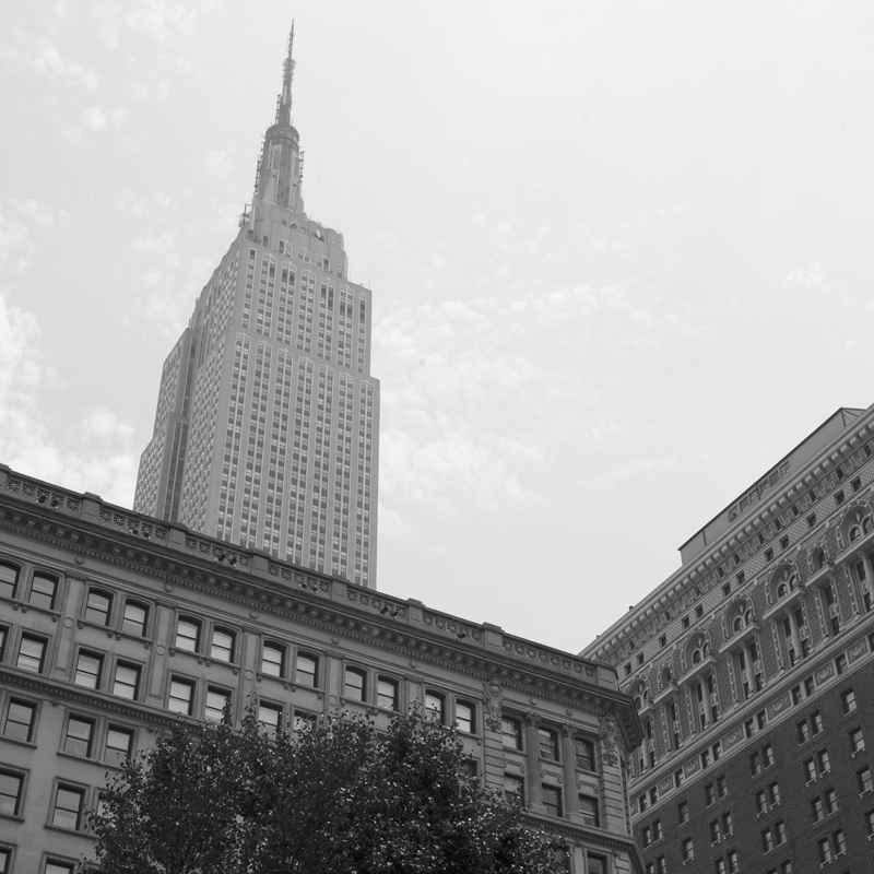 Empire state building from below.jpg