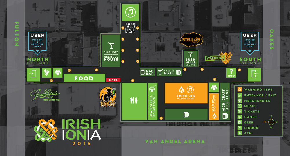 Irish On Ionia Map 2016