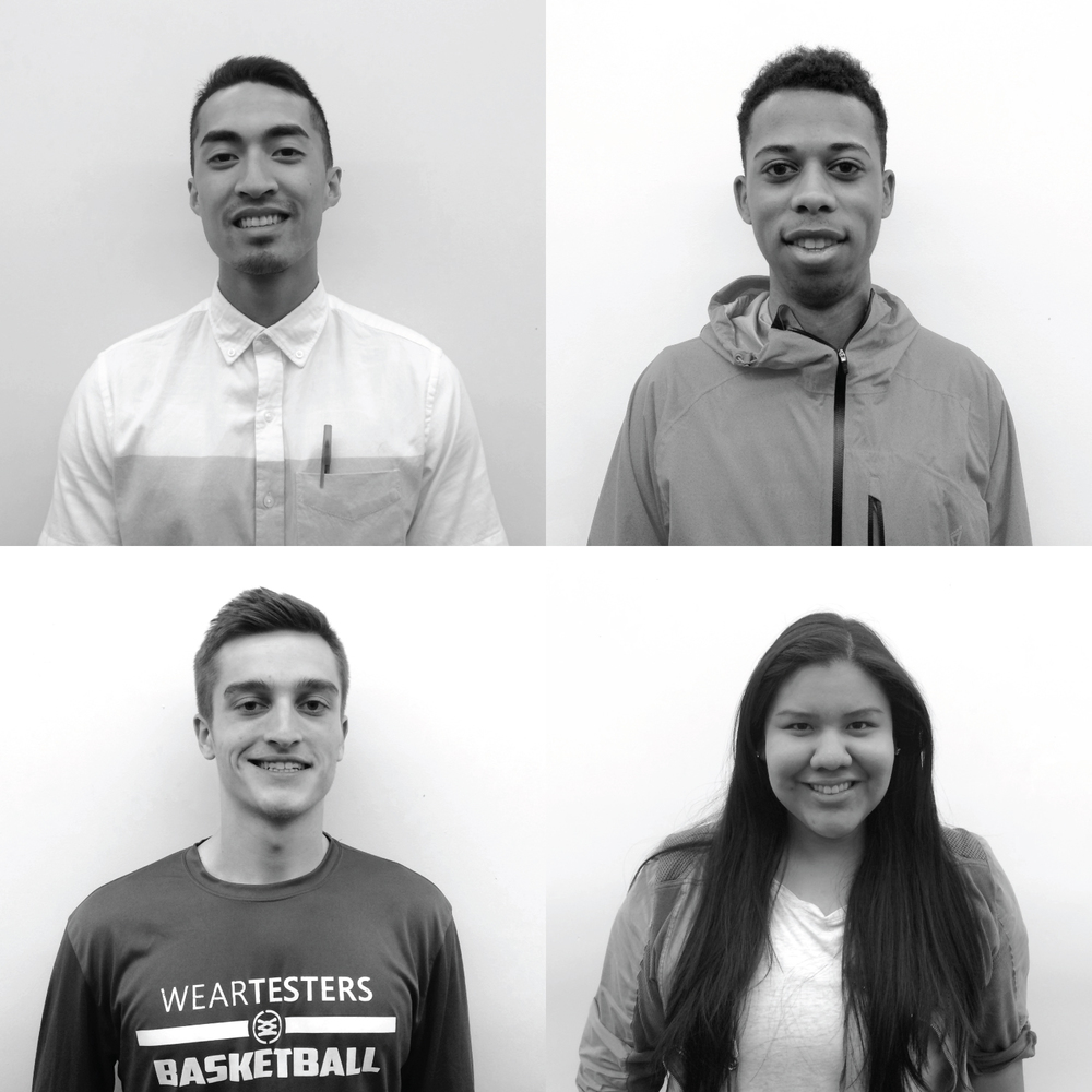 My teammates. Clockwise from top left: Kevin (Footwear Design, Canada), Blair (Footwear Design, England), Lacey (Footwear Design, Arizona), John (Brand Design, New York)