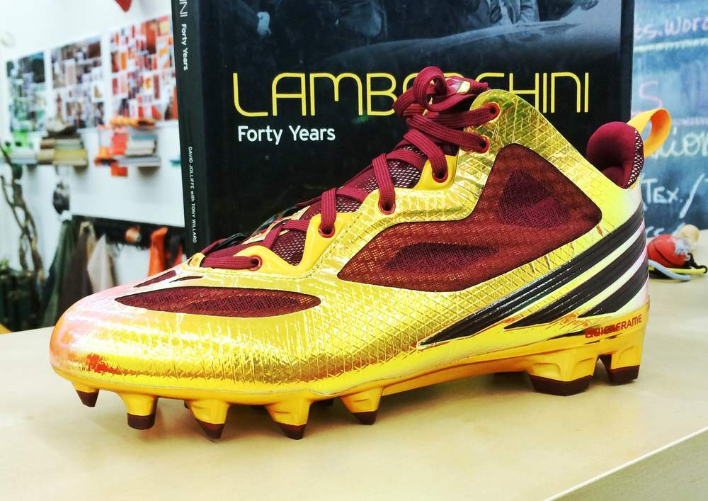 "Brought into the MLAB: adidas RG3 Cleats ""Cardinal"""