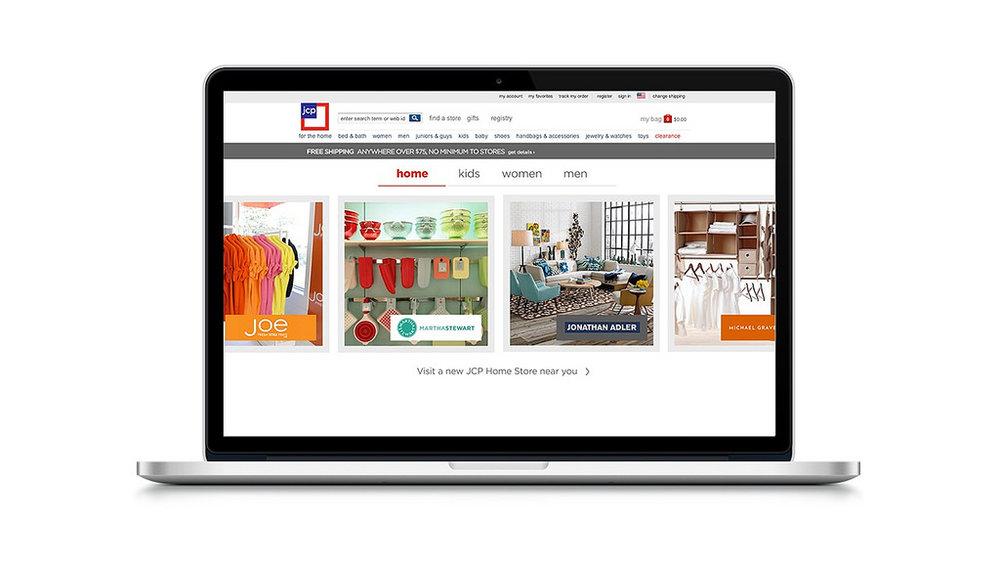 JCP - e.commerce platformR/GA 2013