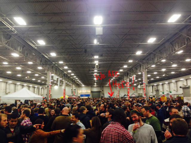Winterfest 2014...it was PACKED!